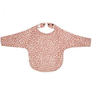 Bébé-Jou Fabulous Podbradník s dlhým rukávom Leopard Pink