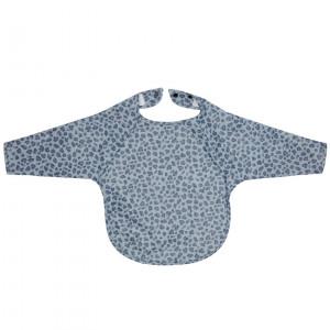 Bébé-Jou Fabulous Podbradník s dlhým rukávom Leopard Blue