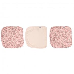 Bébé-Jou Mušelínová žinka na tvár 3ks - Leopard Pink