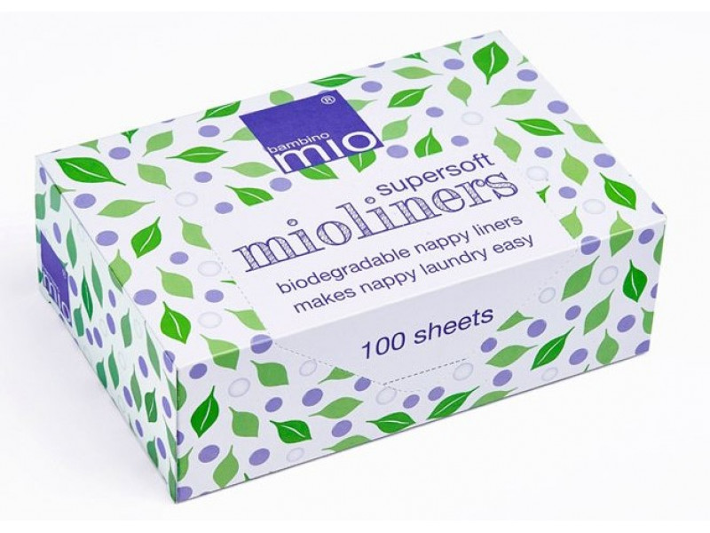 BAMBINO MIO Univerzály Supersoft mio liners 100 lisov