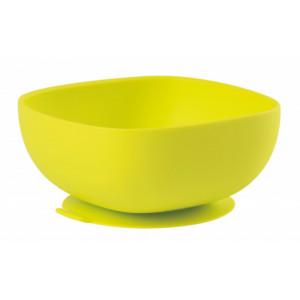 Beaba Miska silikónová s prísavkou Green