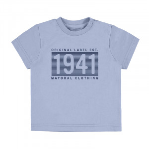Tričko MAYORAL modré, Boy (3H)