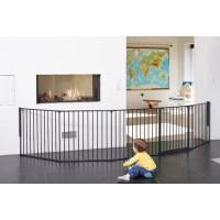 Baby Dan Priestorová zábrana flex Xxl Čierna 90 - 350 cm