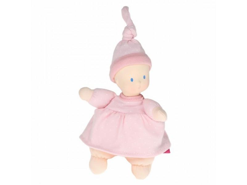 Mini bábika miláčik - 15cm | Ružová
