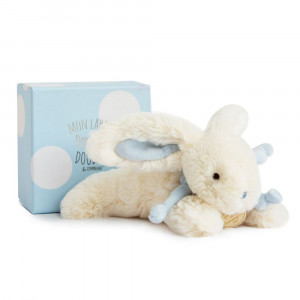 DouDou et Compagnie Lapin Bonbon Zajačik modrý PM 16cm