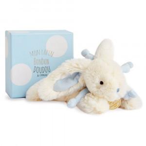 DouDou et Compagnie Lapin Bonbon Zajačik modrý PM 25cm