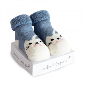Doudou et Compagnie Ponožky pre bábätko mix