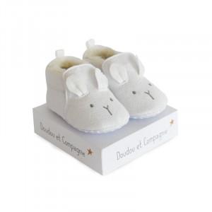 DouDou et Compagnie Capačky Zajačik biely