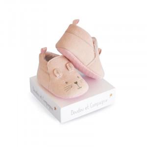 DouDou et Compagnie Capačky Zajačik ružový