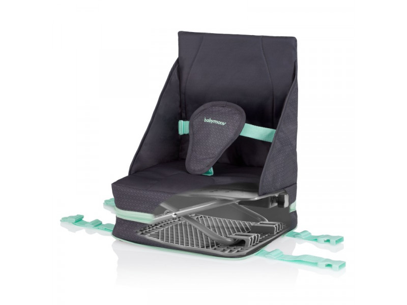 BabyMoov Prenosná stolička UP & GO Smokey