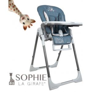 Renolux Jedálenská stolička BEBE VISION Sophie LA GIRAFE Paris
