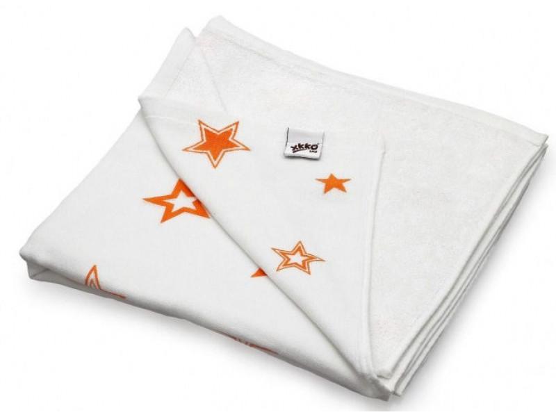 XKKO Deka BAMBUSOVÁ 130x70cm Orange Stars